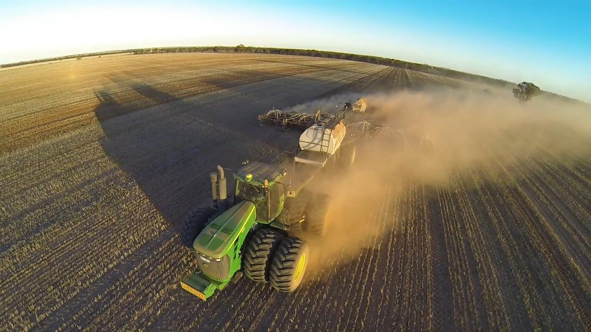 seeding aerial | Gerrard Hydraulics